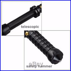 Tactical Flashlight Baton Expandable LED Battery/Charger Included (Lot of 28)