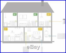 Tado° Smart Thermostat Starter Kit V3+ with Hot Water Control includes Extension