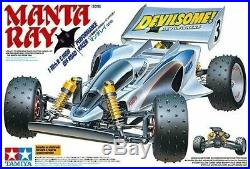 Tamiya Manta Ray 4x4 2018, New In Box, Includes Speed Controller, Great Buggy