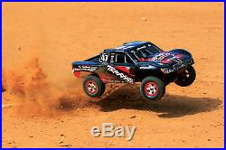 Traxxas 1/16th Slash 4x4 #47 70054-1 Controller, Battery & Fast Charger Included