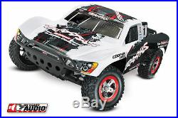 Traxxas 2WD Slash OBA 58034-2 Controller, Battery & Fast Charger Included! White