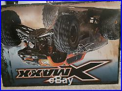 Traxxas xmaxx 8s neon orange, brand new in box, batteries NOT included. SALE