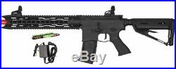 Valken ASL Series AEG Airsoft Rifle Toy TRG Black Included Battery & Charger