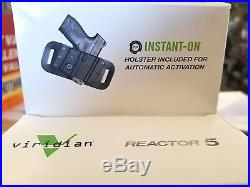 Viridian reactor 5 green laser sight with holster for Glock43 batteries included