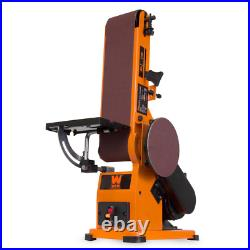 WEN 4 in. X 36 in. Belt and 6 in. Disc Corded Sander with Steel Base