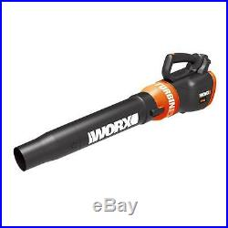 WG546.2 WORX 20V Cordless Turbine Leaf Blower with (2) Batteries Included