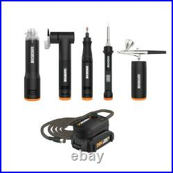 WORX WO7089 MAKERX Ultimate Combo Kit (5) DIY Tools with Battery Hub included