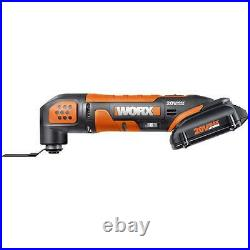 WORX WX682L 20V PowerShare Cordless Oscillating Multi-Tool Kit + Case included