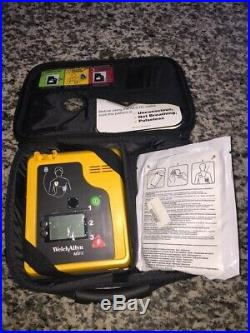 Welch Allyn AED 10 New Battery, Case and Pads Included