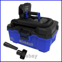 Wet Dry Shop Vacuum Cordless Handheld Powerful 3-Gallon (Battery Not Included)