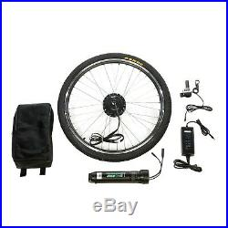 (only 2 Wires) Ebike Kit Front Wheel E-bike Conversion Kit Battery Included